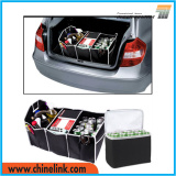 Foldable Polyester Car Trunk boot Organizer with Cooler