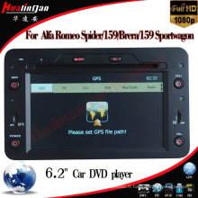 Lecteur DVD de voiture spécial pour Alfa Romeo Spider / Alfa Romeo159 Navigation GPS (HL-8804GB)