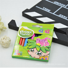 juego de lápices de colores de madera promocional para niños