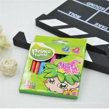 ensemble de crayons de couleur en bois pour enfants promotionnels