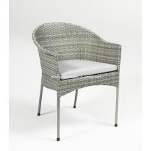 Muebles de jardín muebles de mimbre al aire libre Patio rota silla