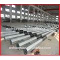 Q235 galvanized steel octagonal electric pole
