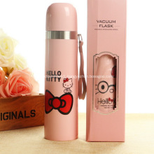 Promotional 500ml Hello Kitty Stainless Sports Bottles