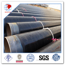 API 5L X65 HDPE concrete coating steel pipe