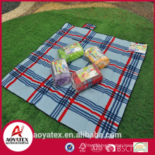 Hot selling washable polar fleece waterproof camping mat