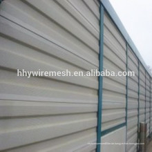 Fabrik direkt liefern Aluminium verzinktem Metall Autobahn temporäre Lärmschutzwand