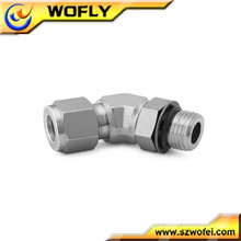 Positionable SAE Male Elbow Male tube fitting