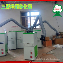 new design ISO Approved Welding Fume Dust Collector with three function arms