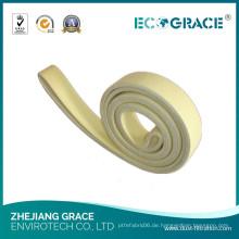 Industrial High Efficient 480 Grad Celsius Resistant Kevlar Filzgürtel