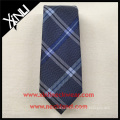 Latest New Design Fashion Top Plaid Jacquard Mens Custom Silk Ties