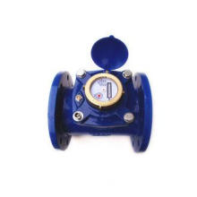 Cast Iron Industrial Water Meter Horizontal Dry Dial For Ag