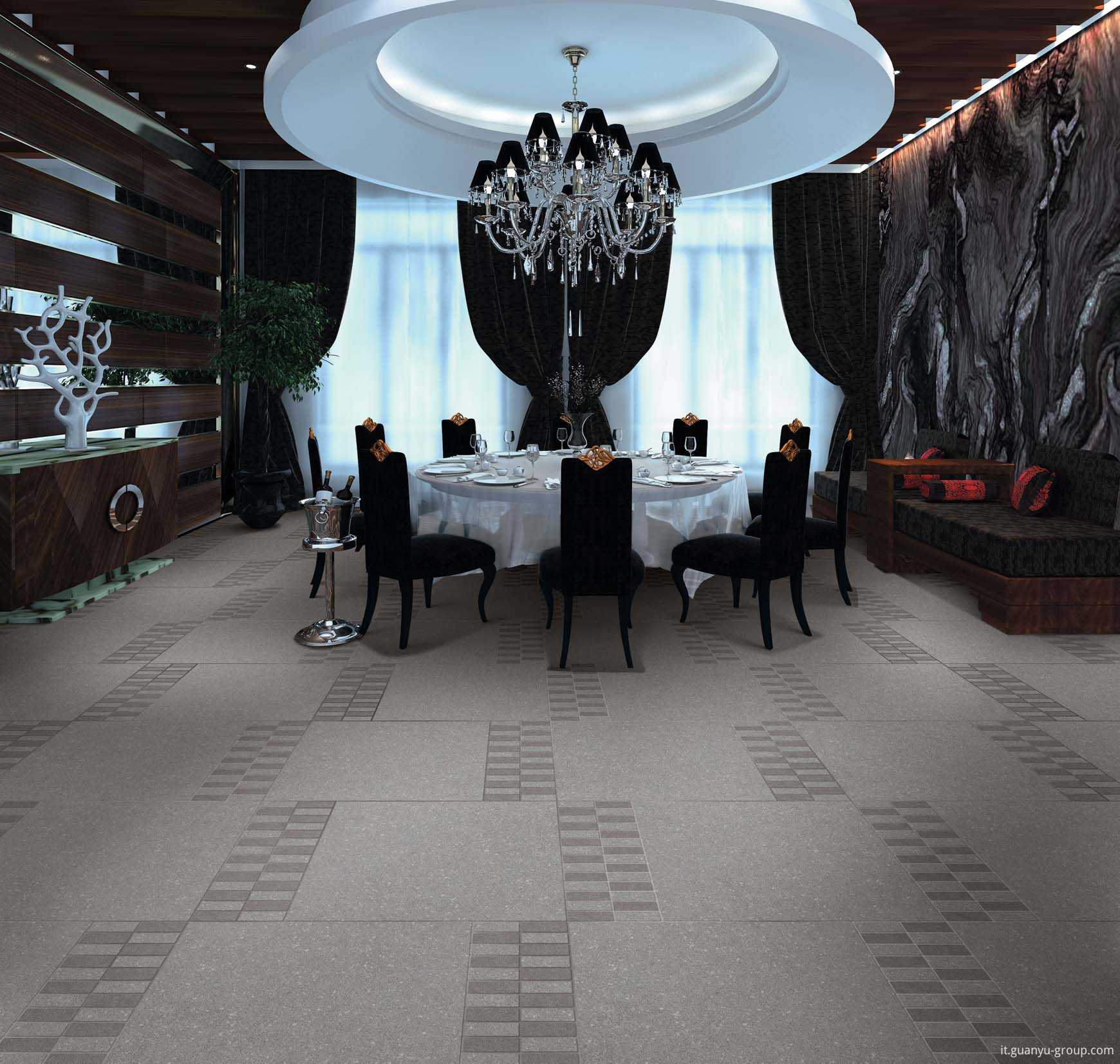 Luxury Gray Max Stone Rustic Floor Tile