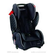 Rote und schwarze Babyautositze für 0-18kg