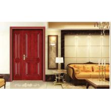 Puerta de entrada de madera sólida especial