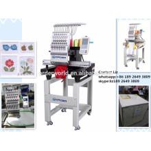 Único preço principal da máquina do bordado do tampão e do t-shirt, máquina do bordado