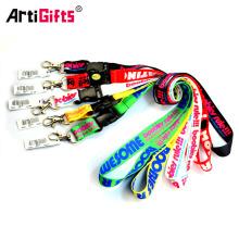 Artigifts Promotion cordones personalizados baratos sin pedido mínimo