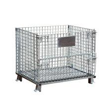 Galvanized Foldable Bike Combination Lockable, Metal Storage Locker Cage For Bicycle, Steel Storage Cage/