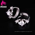 El mejor pendiente del aro del diamante de la joyería de la manera de la venta