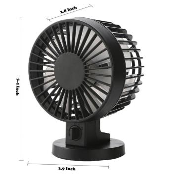 Summer Portable Mini Desktop Fan Dual Blade Fan