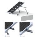 Système de montage solaire inclinable à toit plat 100KW