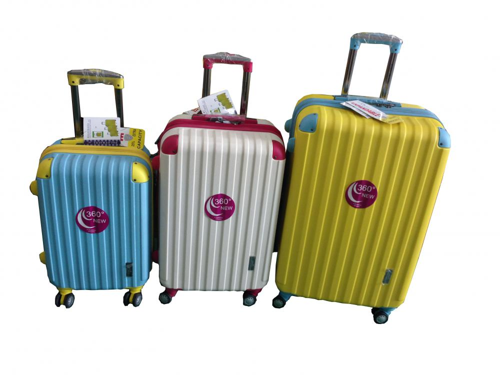 Fashion Color ABS Luggage