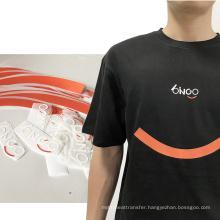 Custom High Quality thermal offset heat transfer plastisol t shirt heat press sticker for clothing