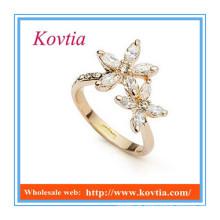 Wholesale fine jewelry cheap China jewellery snake rings gold and diamonds