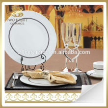 Ceramic Eco ware square dinner ware 47pcs dinner italian style dining set
