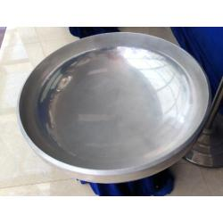 Aluminum 2:1 Ellipsoidal dishend