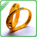Promotional Silicon Wristband with Logo for Gift