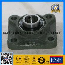 Cojinete de bolas del bloque de almohadilla (UCF205) con la cubierta de acero