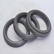 Selos de embalagem de fibra de vidro PTFE / MOS2 Vee