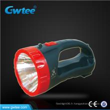 Lumière de recherche rechargeable haute puissance de 2015 vendue chaudement 5w