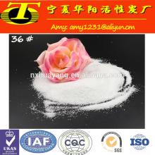 Utilisation de réfractaires et d'abrasifs Oxyde de granules d'aluminium fondu blanc