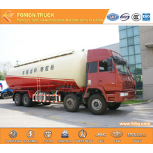 SHACMAN Aolong flour grain transport truck 8x4 36m3