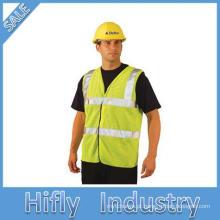 Safty colete de alta visibilidade reflexiva roupa protetora venda quente