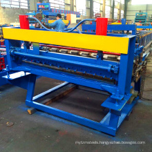 Hebei xinnuo steel sheet leveling and cut machine galvanized metal sheet cutting machine