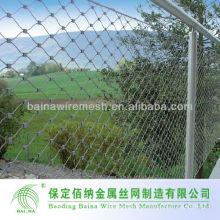Flexível High Tensile Stainless Steel Rope Wire Mesh Net