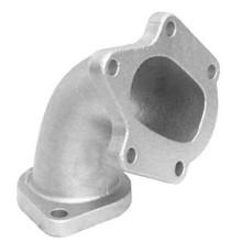 Colada de precisión del tubo de descarga de acero inoxidable