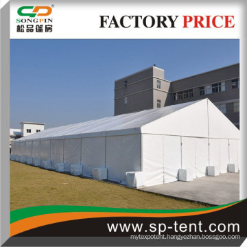 Weighted 20x50m White Aluminum PVC Big Tents for sale army