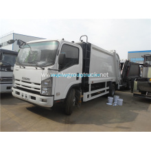ISUZU single row cab 190hp Compressed refuse truck