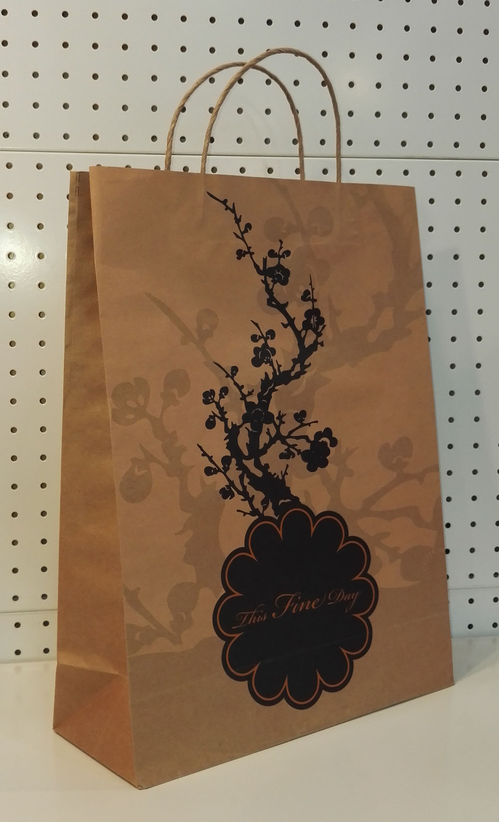 Personalized Paper Shopping Bag