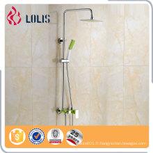 Ensemble de douche de douche de qualité garantie, un robinet de douche à pipe longue, un ensemble de douche à glace