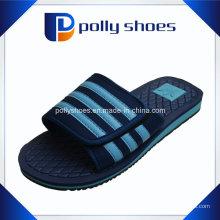Mens Slipper Velcro Dusche Maultier Sandalen