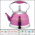 Color Coated Stainless Steel Whistle Kettle
