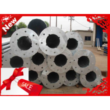 Hot Dip Galvanized power pole