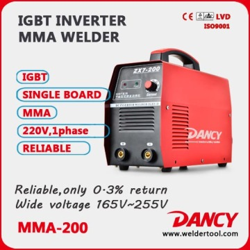 MMA-200 DC inverter arc welder