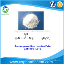 Sulfato de aminoguanidina, hemisulfato de aminoguanidina, CAS 996-19-0, intermedios farmacéuticos