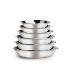 Disco de bandejas de comida de aço inoxidável ChaoZhou