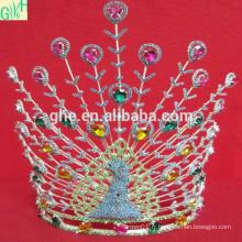 Silver Trompe de mariée nuptiale en cristal magnifique